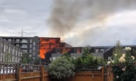 Сграда горя в Лондон