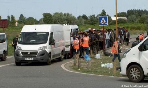 """""""Тук не уважават чернокожите"""": бежанците в Кале не искат да останат във Франция - 1"""
