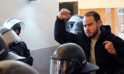Трета присъда за рапъра Пабло Хасел и трета поредна вечер на протести в негова защита