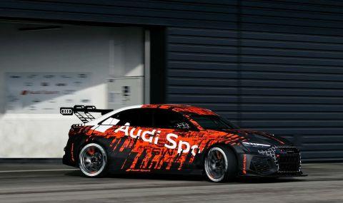 Audi RS3 LMS е машина за пистата с брутален външен вид - 2