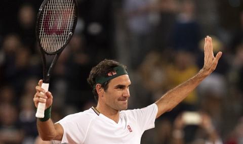 Роджър Федерер направи любопитно признание