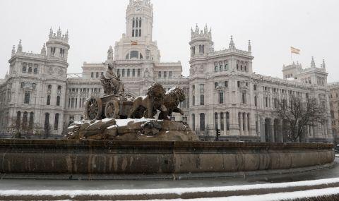 Испания очаква снежна буря