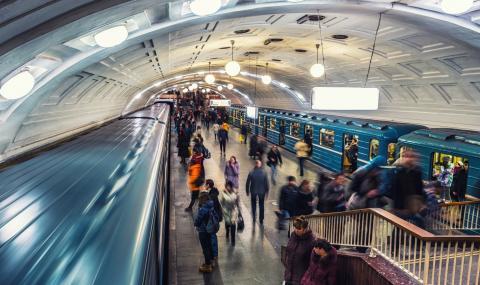Авария в московското метро блокира 1000 пътници