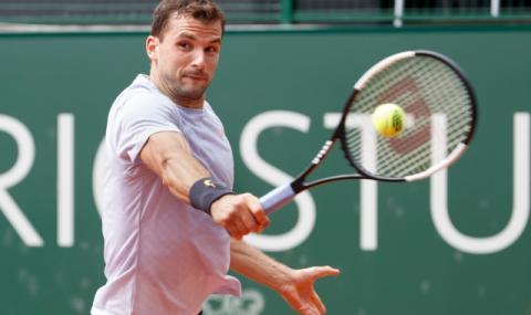 Григор Димитров пак падна в първи кръг