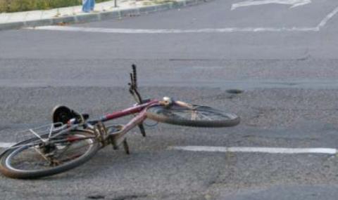 Велосипедист загина, пометен на междуградски път