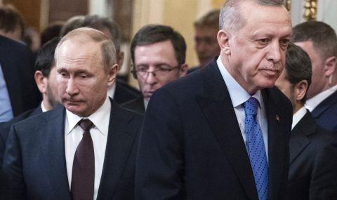 """Ердоган защити Путин, след като Байдън го нарече """"убиец"""""""