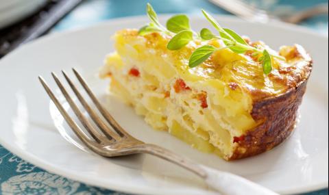 Рецепта на деня: Сочен пай с картофи без кора