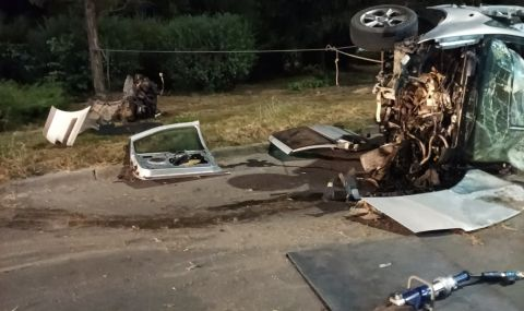 """Тримата загинали при адската катастрофа край """"Евксиноград"""" са чужденци - 1"""