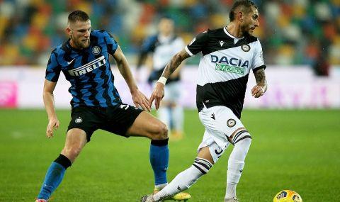 Ялов Интер не се възползва от издънката на Милан