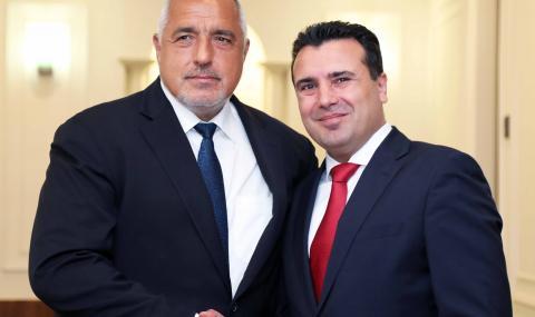 Борисов проведе телефонен разговор със Зоран Заев