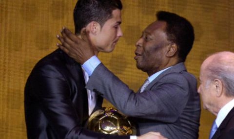 Пеле реагира срещу подобрения рекорд на Роналдо
