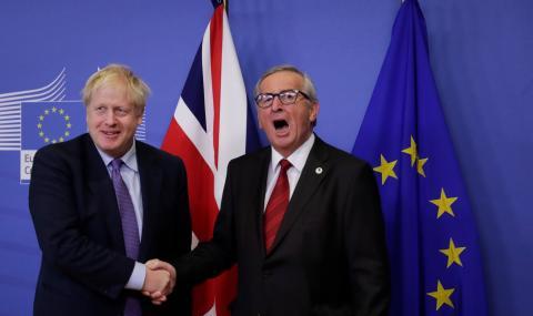 Юнкер: Борис Джонсън излъга