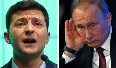 Зеленски покани Путин в Украйна