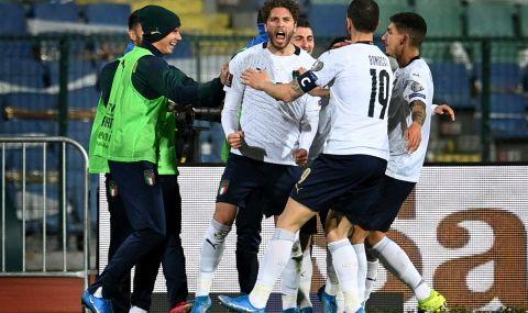 Халф на Италия: Най-хубавото преживавяне до момента в кариерата ми е голът срещу България