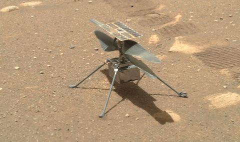"""NASA отложи полета на хеликоптера """"Инджинюъти"""" на Марс"""