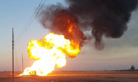 Сирия определи като терористичен акт взрива, който остави страната без ток