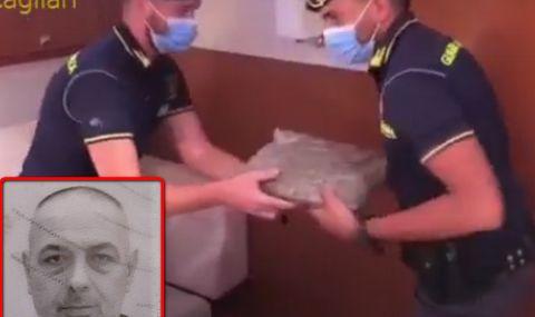 Арестуваха Сашо Турчина и ММА боецът Калоян със 100 кг марихуана край Сардиния (ВИДЕО) - 1