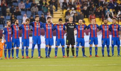 Петима футболисти и двама треньори в Барселона са били с коронавирус