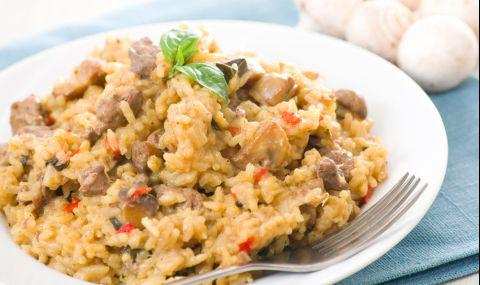 Рецепта за вечеря: Пилешки дробчета с ориз - 1