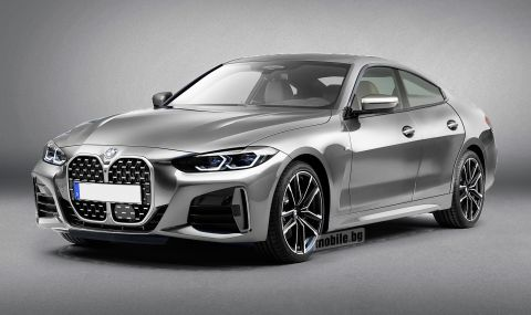 Ето как ще изглежда новата 4 Series Gran Coupe