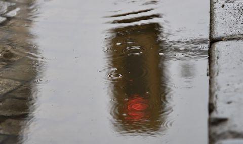 Обилни валежи почти в цялата страна в понеделник