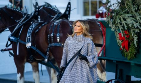 Мелания Тръмп представи украсата в Белия дом