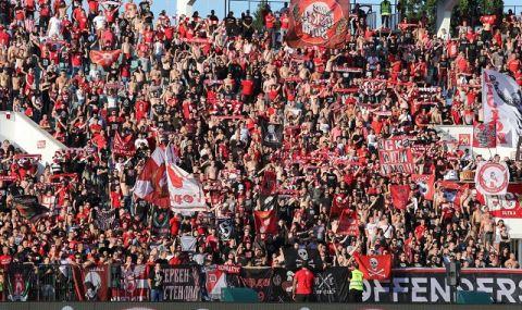 Пускат допълнителни билети за феновете на ЦСКА за финала на Суперкупата на България