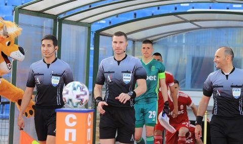 Най-добрият български рефер отново ще съдийства мач от Шампионската лига - 1