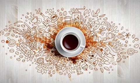 Чашка кафе изгаря мазнини и захар в тялото