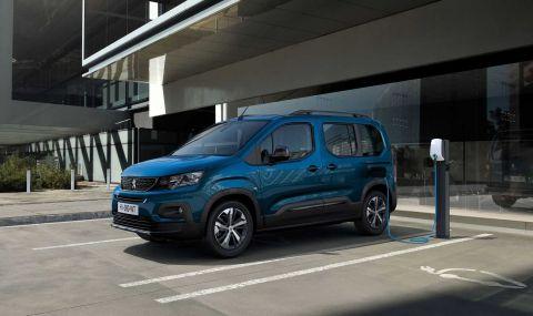 Peugeot представи електрическия Rifter - 1