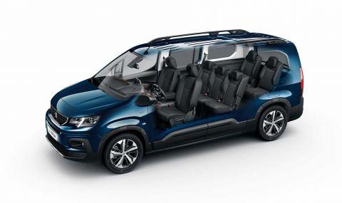 Peugeot представи електрическия Rifter - 2