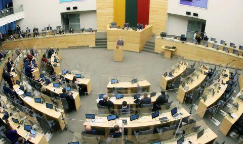 Литва се отдалечава от Китай