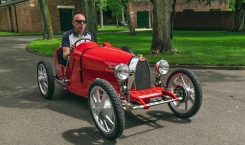Детски електромобил за възрастни или Bugatti за 35 000 долара (ВИДЕО)