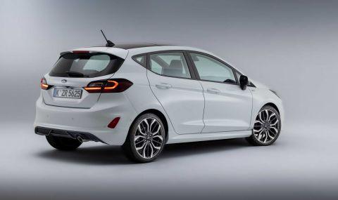 Ford Fiesta с нова визия за 2022 година - 5