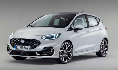 Ford Fiesta с нова визия за 2022 година - 4