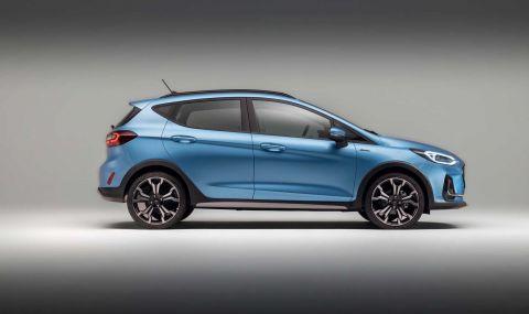 Ford Fiesta с нова визия за 2022 година - 7