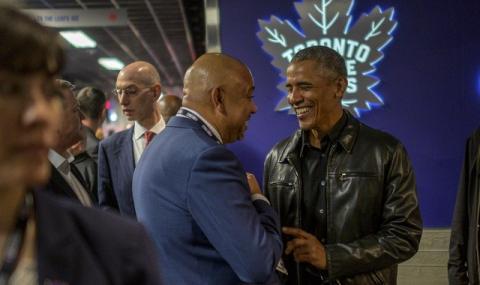 Екип на Обама за... 100 хиляди долара