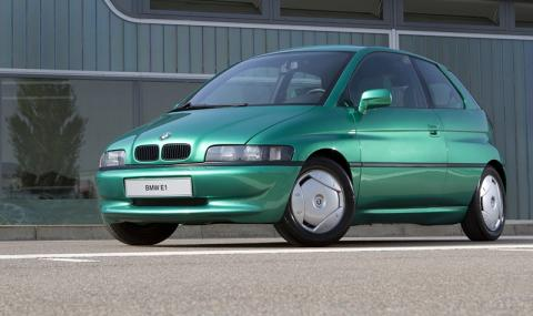 Чували ли сте за BMW E1 - електромобил от 1992-ра