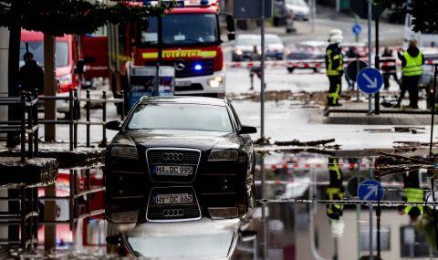 Потоп в Германия! Най-малко 42 души загубиха живота си (ВИДЕО)