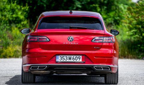 Тествахме VW Arteon Shooting Brake. Може ли едно комби да е стилно и практично? - 11