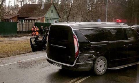 Катастрофа с Aurus-а на руския премиер (ВИДЕО)