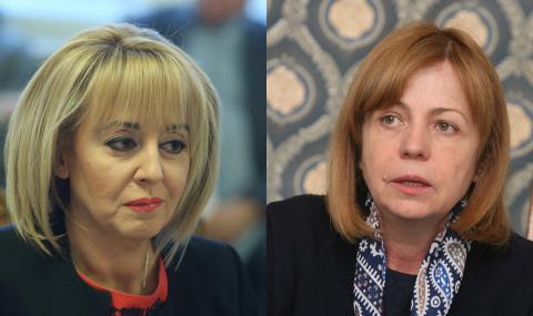 """Галъп"": Манолова бие Фандъкова на балотаж"