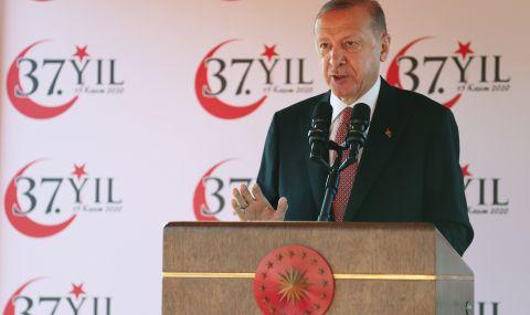 Ердоган видя турски земи в Сибир