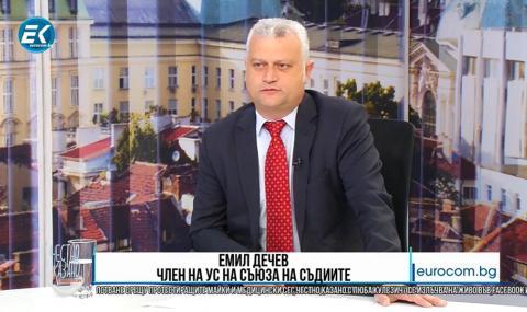 Съдия Дечев: Различната позиция на Лозан Панов дразни мнозинството във ВСС