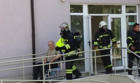Зарядно устройство предизвикало пожара в старческия дом в Благоевград