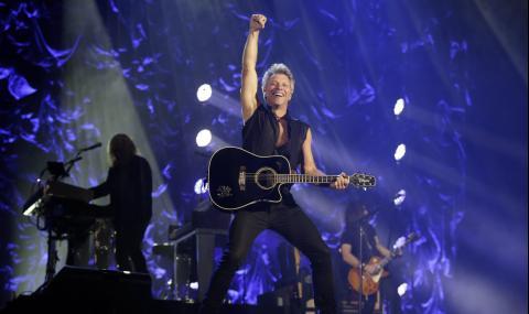 Bon Jovi с голяма изненада за феновете (ВИДЕО)