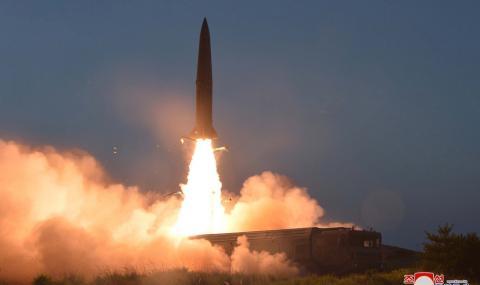 Северна Корея: Ракетите са послание към Южна Корея!