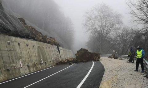 Симов: Срутената скала по пътя за Рилския манастир казва всичко за ГЕРБ