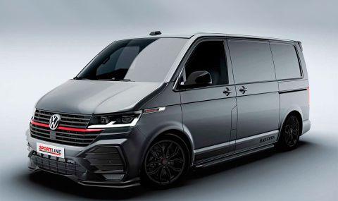 Ново 20: Volkswagen Transporter в стил GTI