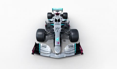 Mercedes показа новия си болид за следващия сезон